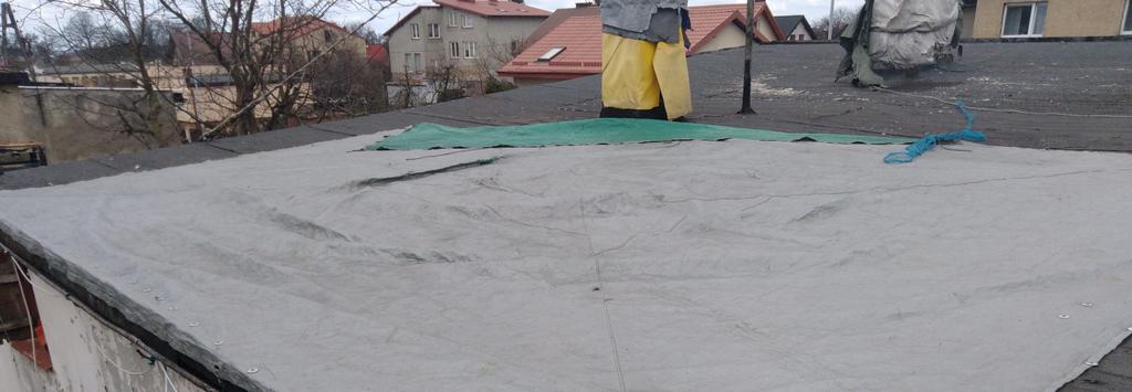 Pomoc w remoncie zalanego dachu w Kosakowie (link otworzy duże zdjęcie)