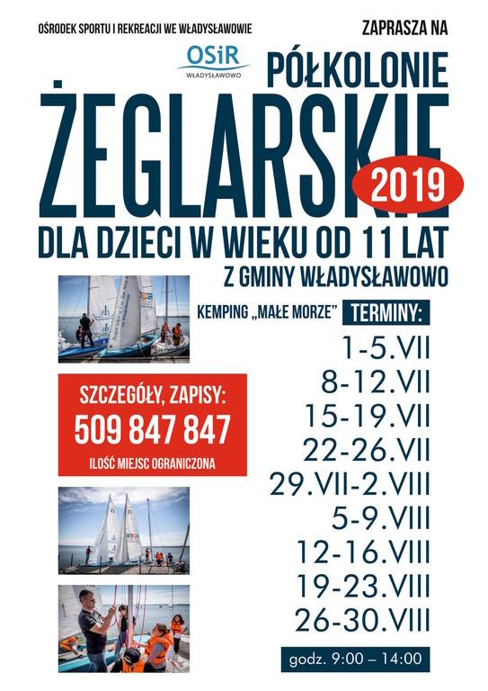 Półkolonie żeglarskie Władysławowo 2019 (link otworzy duże zdjęcie)