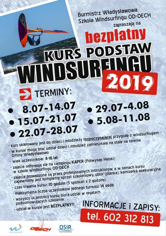 Bezpłatny kurs podstaw windsurfingu – Władysławowo - edycja 2019 (link otworzy duże zdjęcie)
