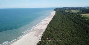 Poszerzanie plaż - 14.07 (fot. Willa Zacisze)