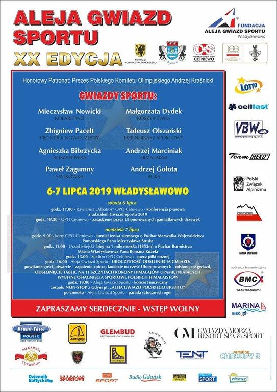 XX edycja Alei Gwiazd Sportu (link otworzy duże zdjęcie)