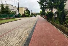 Przy ulicy Geodetów wybudowano chodnik