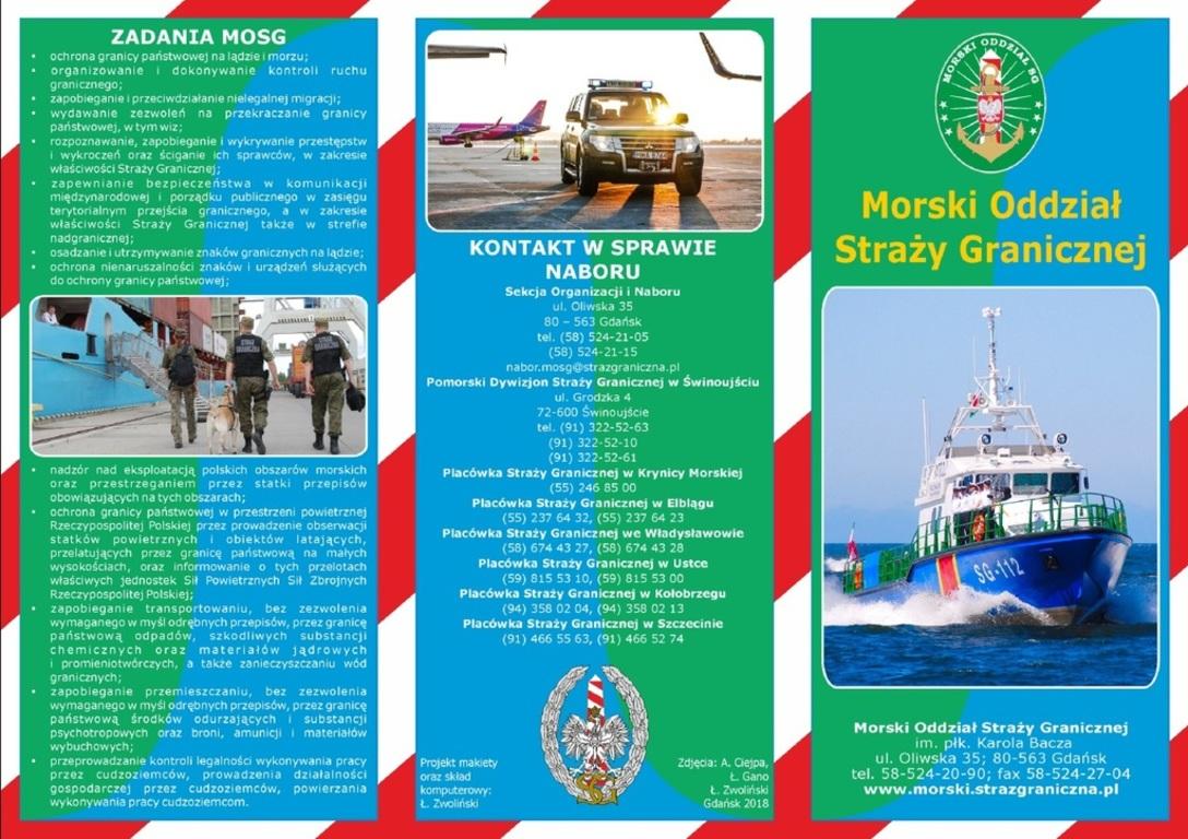 Nabór w Morskim Oddziale Straży Granicznej