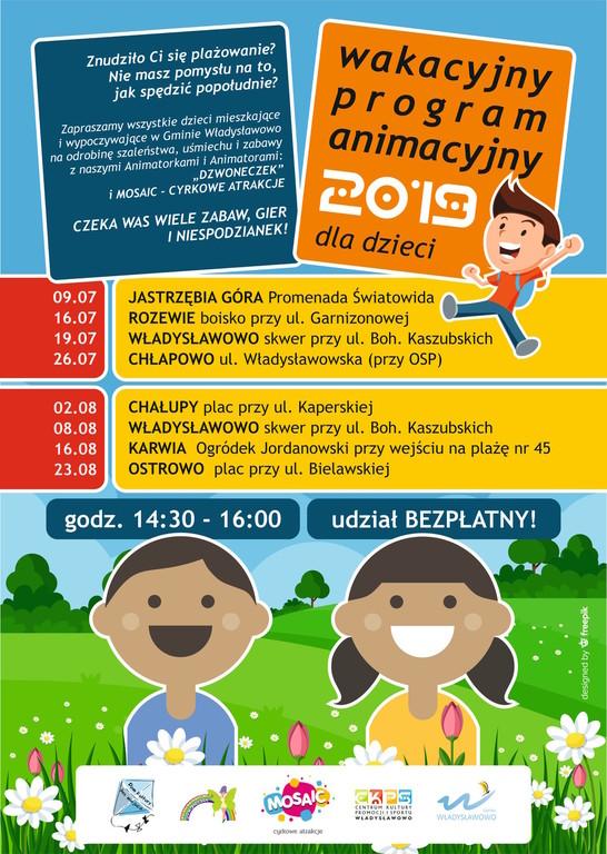 Wakacyjny Program Animacyjny dla Dzieci (link otworzy duże zdjęcie)