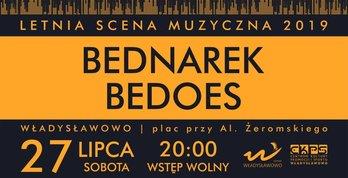 Letnia Scena Muzyczna Władysławowo 27/07/2019, Bednarek, Bedoes