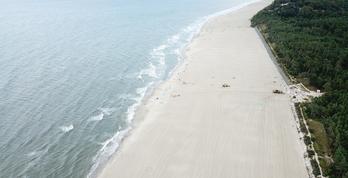 Refulacja zakończona - mamy najszersze plaże na wybrzeżu!