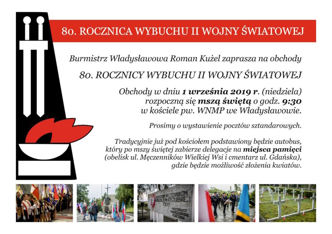 80. rocznica wybuchu II wojny światowej - Władysławowo (link otworzy duże zdjęcie)