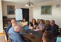 Posiedzenie Gminnego Zespołu Zarządzania Kryzysowego (GZZK)