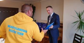 Burmistrz podziękował ratownikom