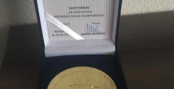 Medal dla Fundacji Aleja Gwiazd Sportu