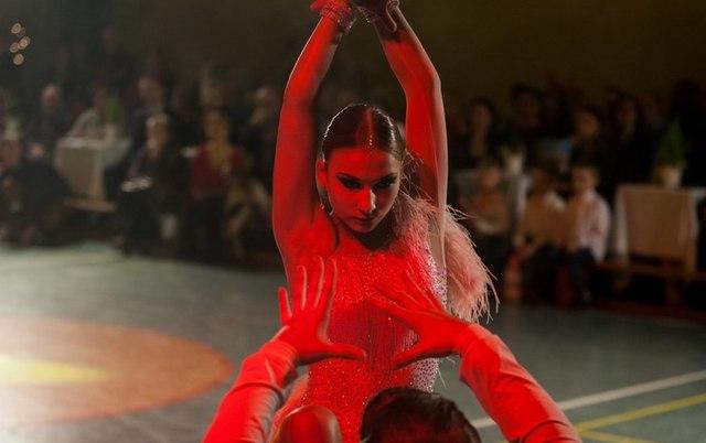 Mikołajkowy pokaz tańca