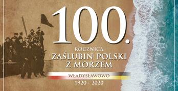 100. rocznica Zaślubin Polski z Morzem we Władysławowie - baner 2