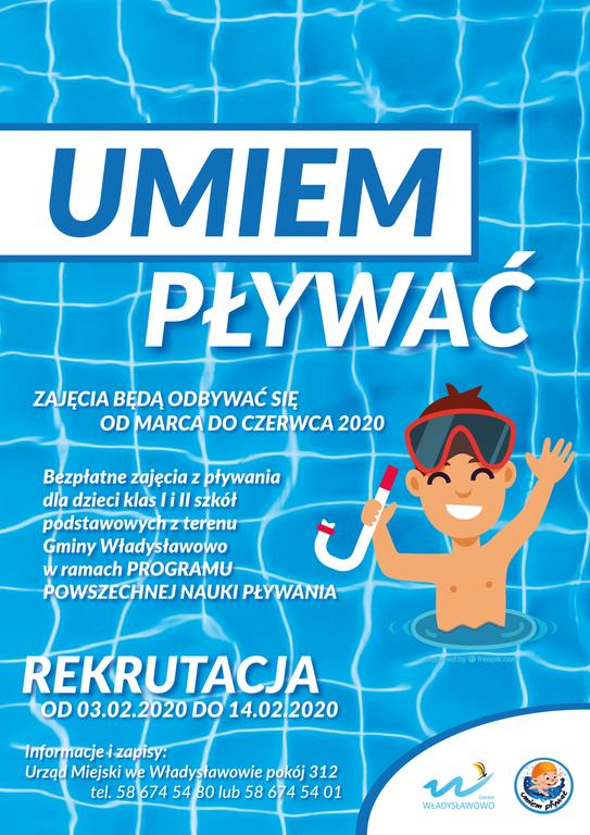 plakat - program umiem pływać