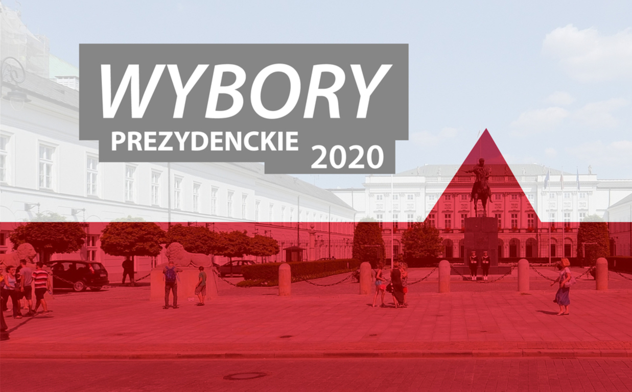 wybory prezydenckie 2020 - baner