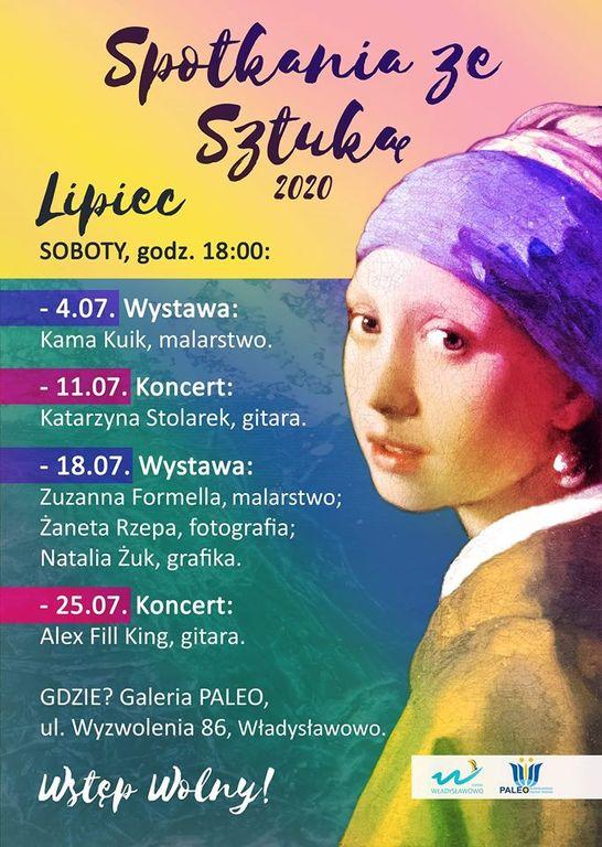 Spotkania ze Sztuką, Władysławowo 2020 (link otworzy duże zdjęcie)