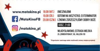 Bezpłatne Kino Samochodowe - Władysławowo, sierpień 2020