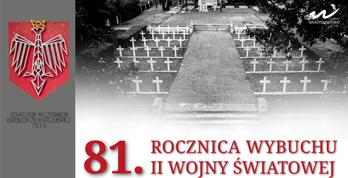 81. rocznica wybuchu II Wojny Światowej - baner