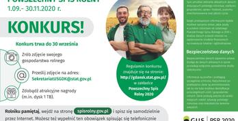 Spis Rolny - konkurs