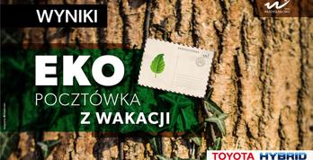 Ekopocztówka z wakacji w Gminie Władysławowo - wyniki
