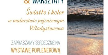 Plener malarski i warsztaty - plakat