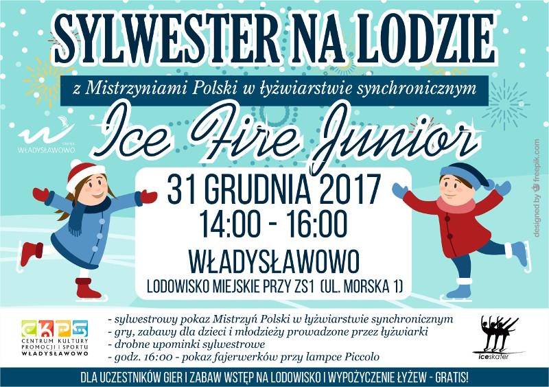 Sylwester na lodzie, Władysławowo 2017