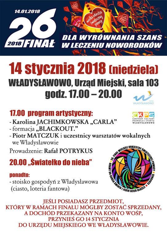 26. Finał WOŚP we Władysławowie