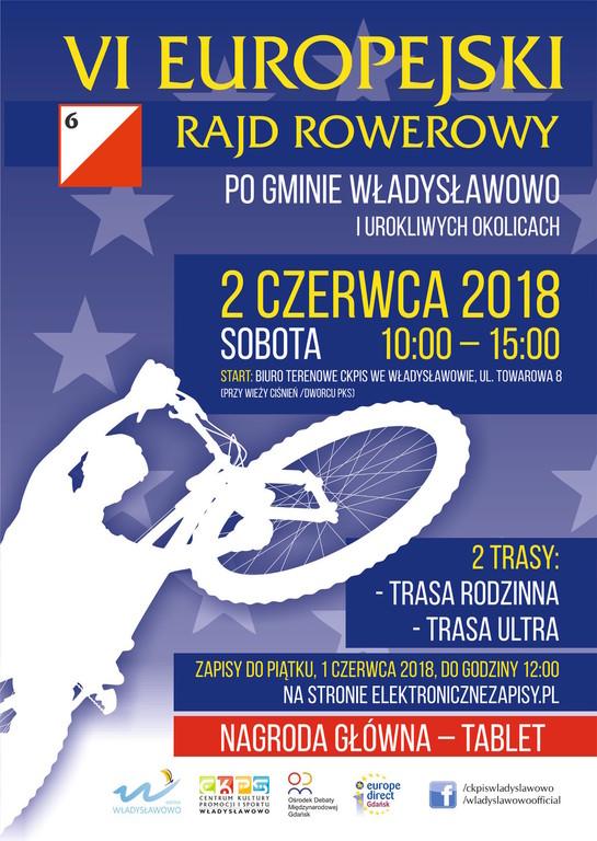 VI Europejski Rajd Rowerowy, Władysławowo 2018