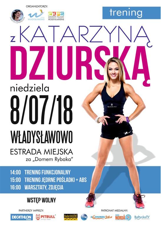 Trening z Katarzyną Dziurską - Władysławowo 2018