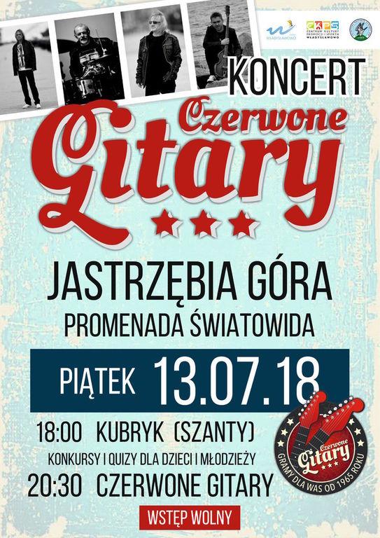 Czerwone Gitary, koncert w Jastrzębiej Górze, 13 lipca 2018