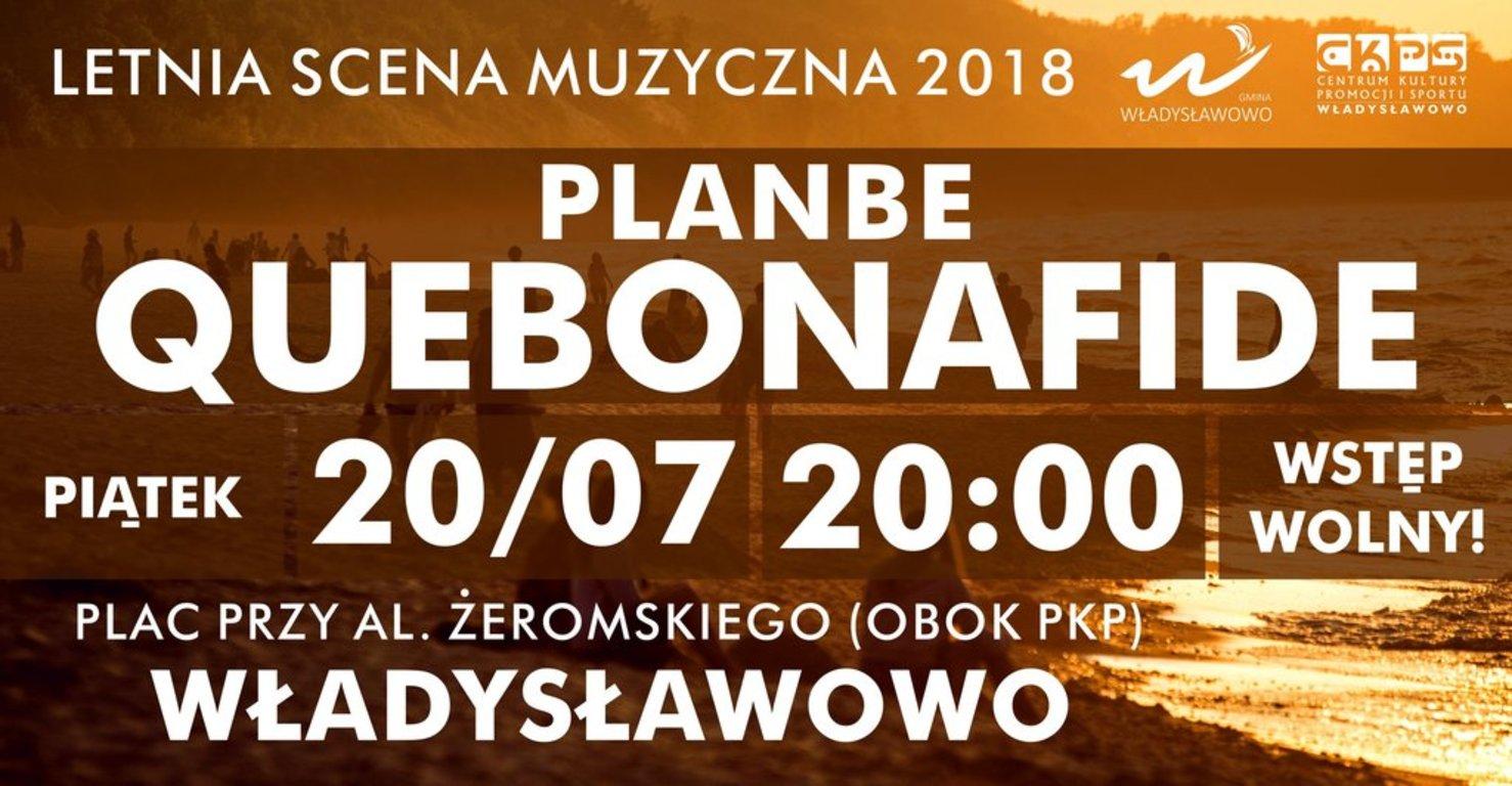 Letnia Scena Muzyczna 2018 Władysławowo - PlanBE, Quebonafide