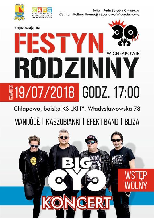 Festyn Rodzinny w Chłapowie - koncert Big Cyc