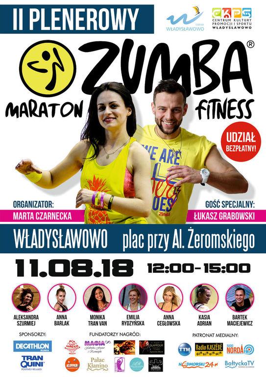II Plenerowy Maraton Zumba Fitness - Władysławowo 2018