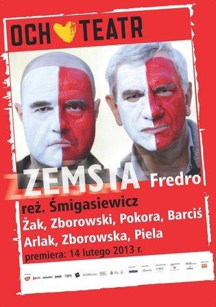 Zemsta spektakl Och-Teatru, Władysławowo 2018