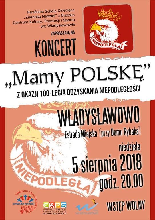 Koncert Mamy Polskę - Ziarenka Nadziei - Władysławowo 2018