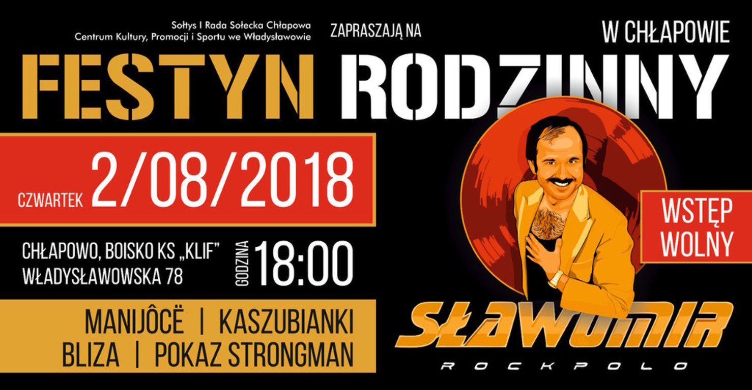 Festyn Rodzinny w Chłapowie - Sławomir (koncert)