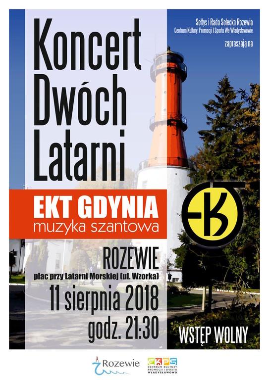 Koncert Dwóch Latarni - Rozewie 2018