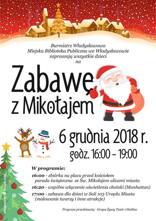 Zabawa z Mikołajem, Władysławowo 2018