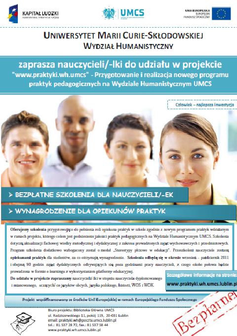 Plakat Uniwersytet Marii Curie Skłodowskiej [480x680]
