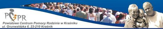 Banner Powiatowe Centrum Pomocy Rodzinie w KRaśniku [520x95]