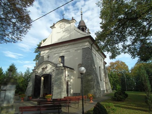 Zdjęcie przedstawia budynek kościoła pod wezwaniem Świętego Ducha w Kraśniku [600x450]