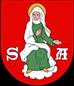 Zdjęcie przedstawia herb Urząd Miasta i Gminy-Annopol