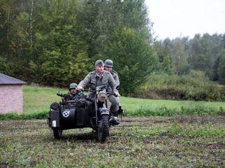 Inscenizacja historyczna Podziemie Zbrojne Ziemi Kraśnickiej, które odbyło się 16 września.
