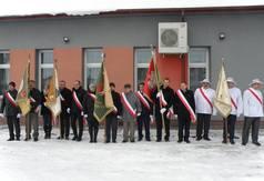 Na zdjęciu poczty sztandarowe pszczelarzy z powiatu kraśnickiego.