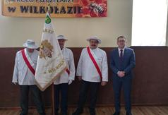 Na zdjęciu członkowie Zarządu Koła Pszczelarzy z Wilkołaza oraz Wicestarosta Kraśnicki Karol Rychle