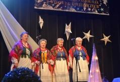 Na zdjęciu zespół śpiewaczy z Dzierzkowic Zastawia.
