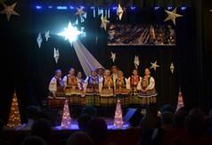 Na zdjęciu zespół śpiewaczy z powiatu janowskiego.