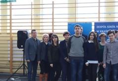 Na zdjęciu uczestnicy VI Powiatowego Konkursu Języka Angielskiego Come to Górka.