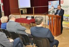 Na zdjęciu Starosta Kraśnicki Krzysztof Staruch podczas Dni Kultury Rolnej w Urzędowie.