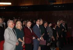 Na zdjęciu m.in. Wicestarosta Kraśnicki Karol Rychlewski,Radna Sejmiku Województwa Lubelskiego Anna Ba