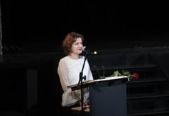 Na zdjęciu Renata Salecka nauczycielka języka angielskiego z ZS nr 2 w Kraśniku, która wystąpiła w